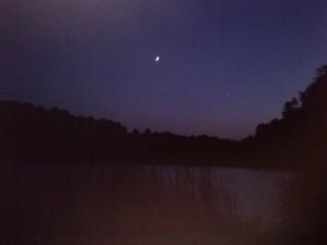 Moonlit Sky at Peaks of Otter