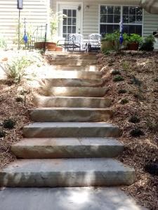 Fieldstone Stairs